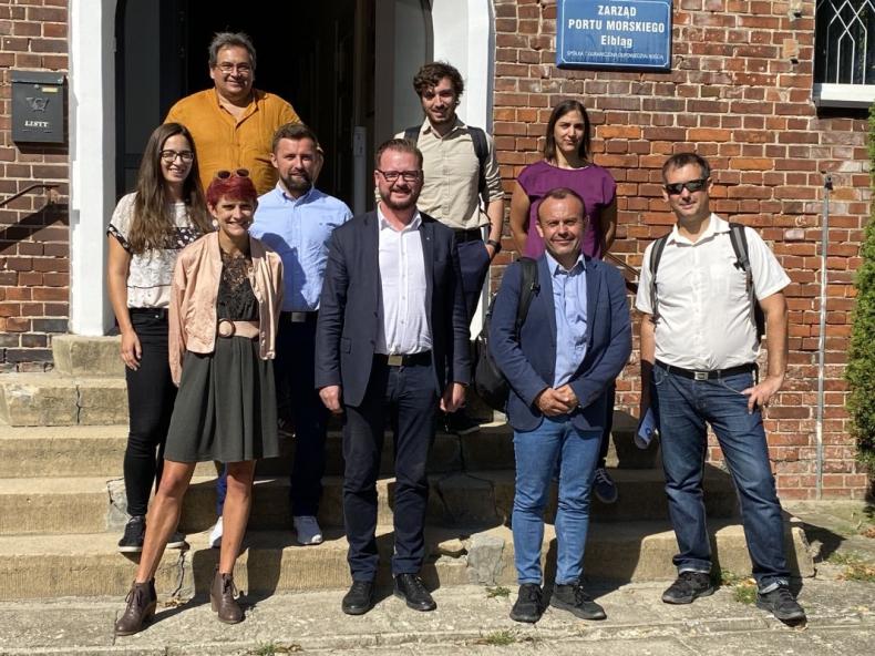 Przedstawiciele firm z Francji i Hiszpanii odwiedzili Port Gdańsk i Port Elbląg - GospodarkaMorska.pl