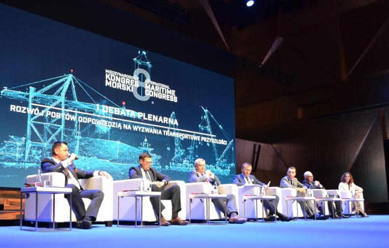 8. Międzynarodowy Kongres Morski. Wyzwania stojące przed portami - GospodarkaMorska.pl
