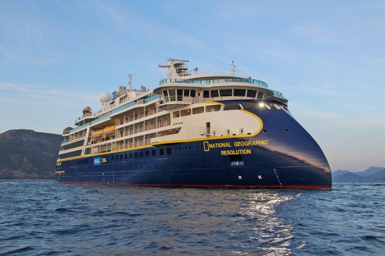 Testy morskie National Geographic Resolution wypadły pomyślnie - GospodarkaMorska.pl