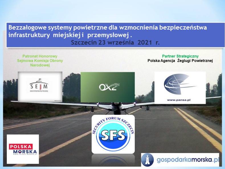 Konferencja dronowa w Szczecinie. Program wydarzenia - GospodarkaMorska.pl