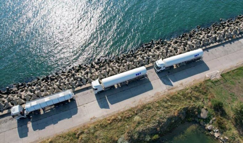 OMV Petrom dostarcza LNG do pierwszego w Rumunii statku napędzanego LNG - GospodarkaMorska.pl