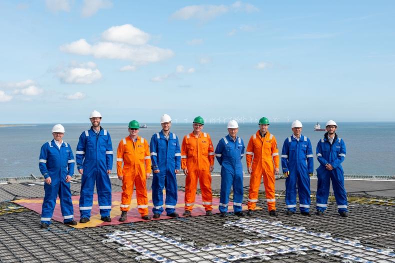 Platforma typu jack-up posłuży do produkcji zielonego wodoru - GospodarkaMorska.pl