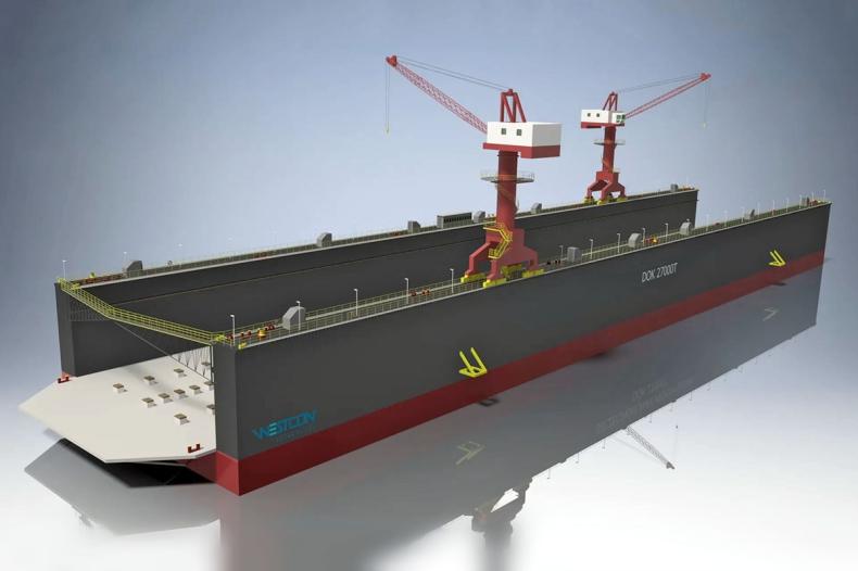 Ruszyła budowa doku dla Gryfii - GospodarkaMorska.pl