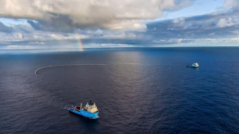 Czy Ocean Cleanup rzeczywiście posprząta ocean? Eksperci mają wątpliwości - GospodarkaMorska.pl