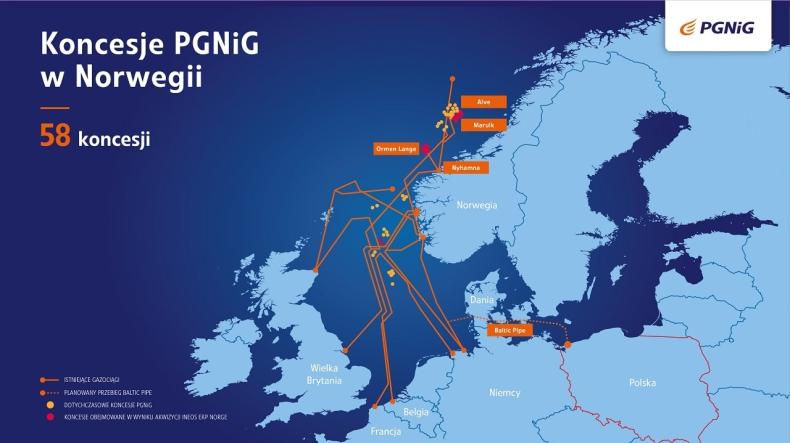 PGNiG przejmuje 21 koncesji na Norweskim Szelfie Kontynentalnym - GospodarkaMorska.pl