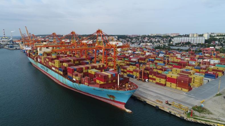MSC Ellen wyrównuje rekord wielkości statku w Porcie Gdynia [WIDEO, ZDJĘCIA] - GospodarkaMorska.pl