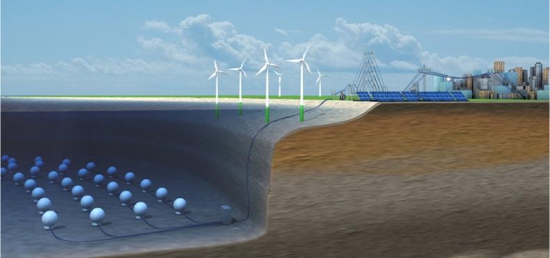 Podczas EXPO w Dubaju zastaną zaprezentowane morskie elektrownie szczytowo-pompowe  - GospodarkaMorska.pl