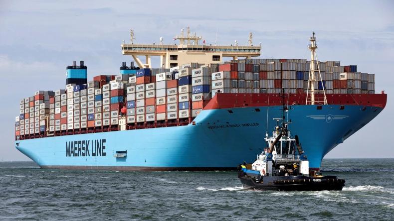 Statek Maersk testuje system nawilżania powietrzem Silverstream - GospodarkaMorska.pl