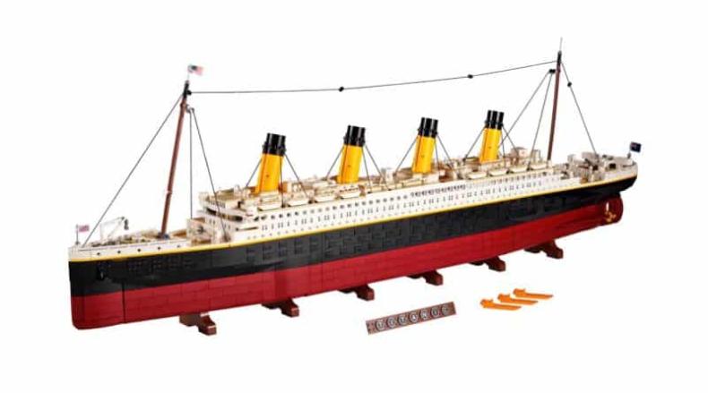 Titanic z Lego - GospodarkaMorska.pl
