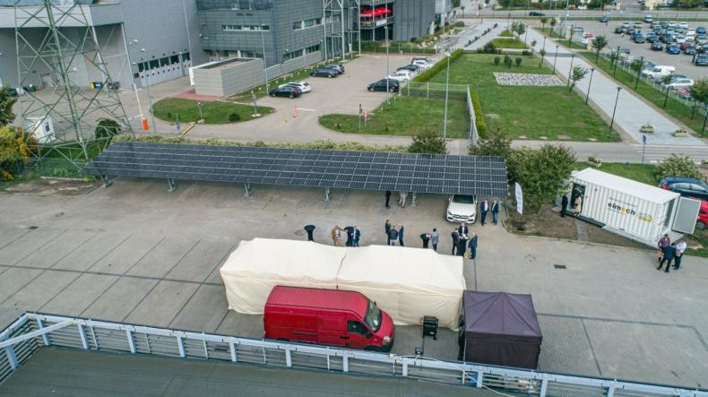 Grupa Technologiczna ASE ma swój magazyn energii. To krok w stronę oszczędności i OZE [WIDEO, ZDJĘCIA] - GospodarkaMorska.pl