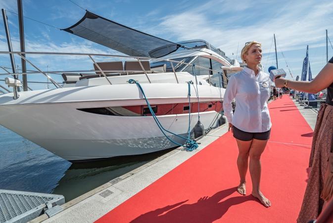 Luksusowe jachty w gdyńskiej marinie - za nami Polboat Yachting Festival [foto, wideo]-GospodarkaMorska.pl