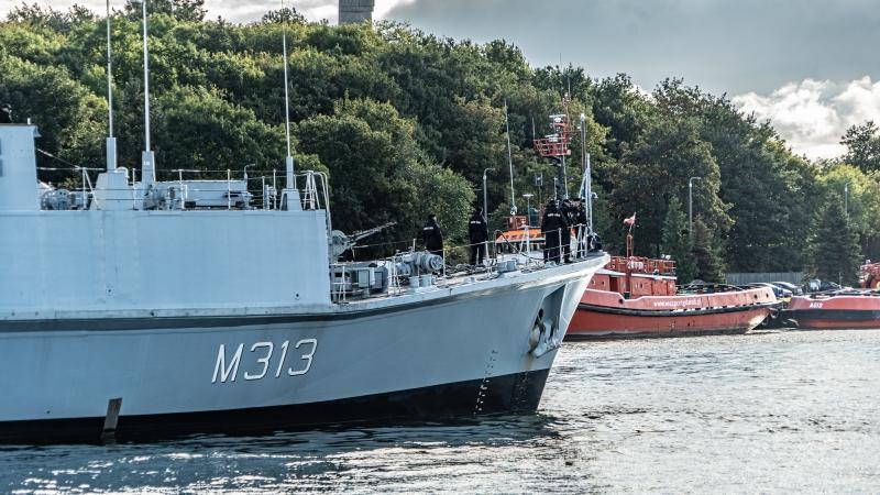 Okręty NATO w Porcie Gdańsk [foto, wideo]-GospodarkaMorska.pl