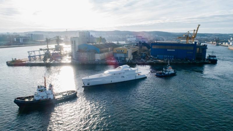 Stocznia Damen Shipyards Gdynia - specjaliści w budowie kadłubów luksusowych jachtów-GospodarkaMorska.pl