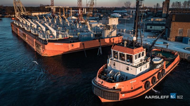 Aarsleff BIZ Sp. z o.o. dostarczył elementy dla farmy wiatrowej Hornsea Two-GospodarkaMorska.pl