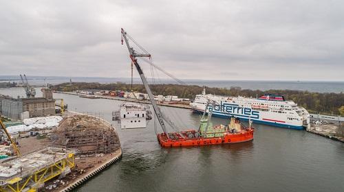 150 osób dziennie przy malowaniu. Jakie prace wykonał Muehlhan przy trafostacji na Morze Bałtyckie? [wideo]-GospodarkaMorska.pl