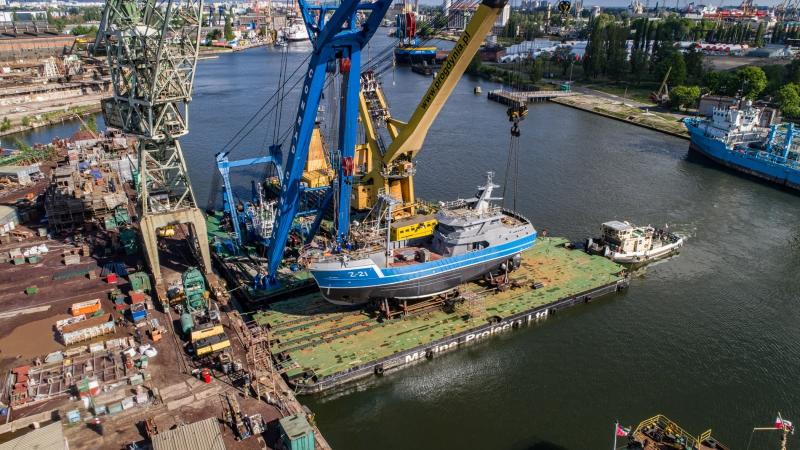 Kolejne wodowanie w stoczni Safe dla Damen Maskant [wideo, zdjęcia]-GospodarkaMorska.pl
