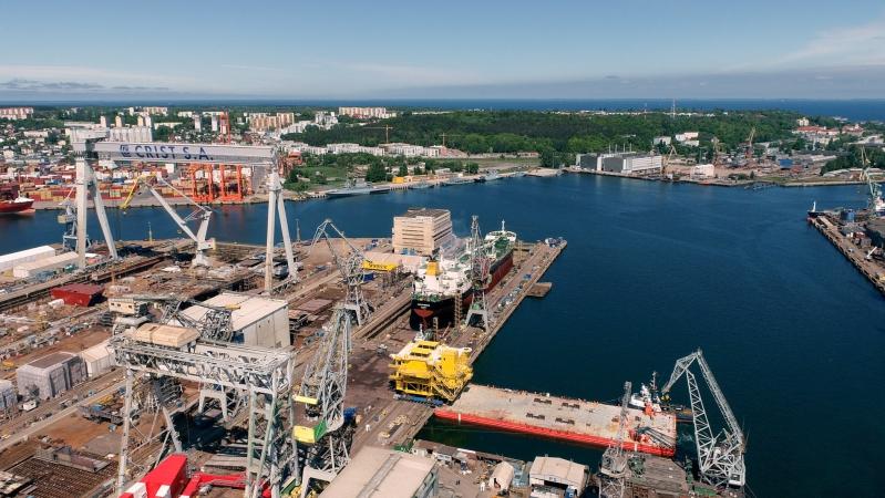 EPG łączy siły z Bladt Industries. Zobacz załadunek 700-tonowej trafostacji Kaskasi [WIDEO]] -GospodarkaMorska.pl