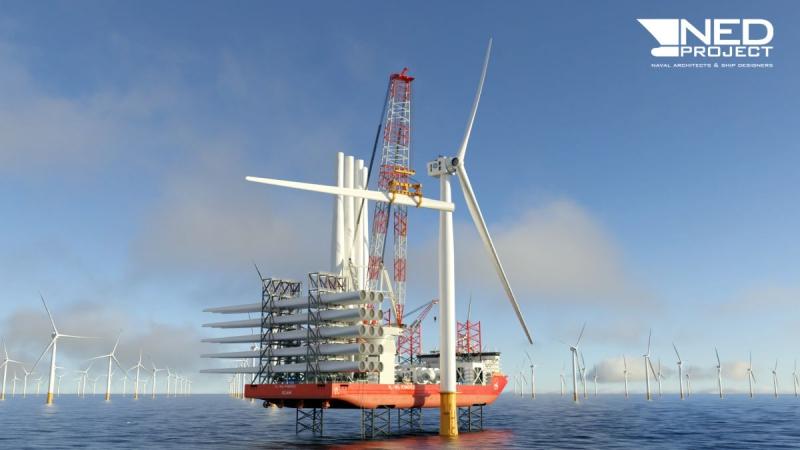 NED-Project robi kolejny duży krok dla projektu statku instalacyjnego ULAM [ZDJĘCIA]-GospodarkaMorska.pl
