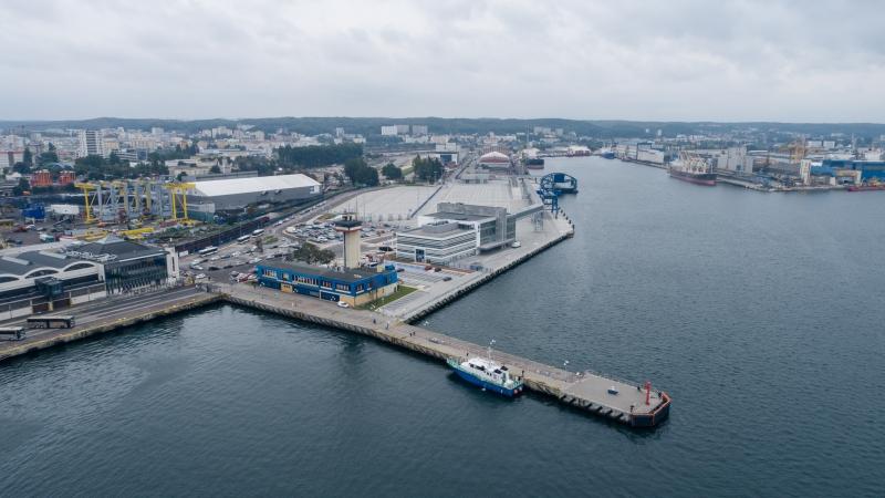 Zakończenie budowy Publicznego Terminalu Promowego w Porcie Gdynia [WIDEO, ZDJĘCIA]-GospodarkaMorska.pl